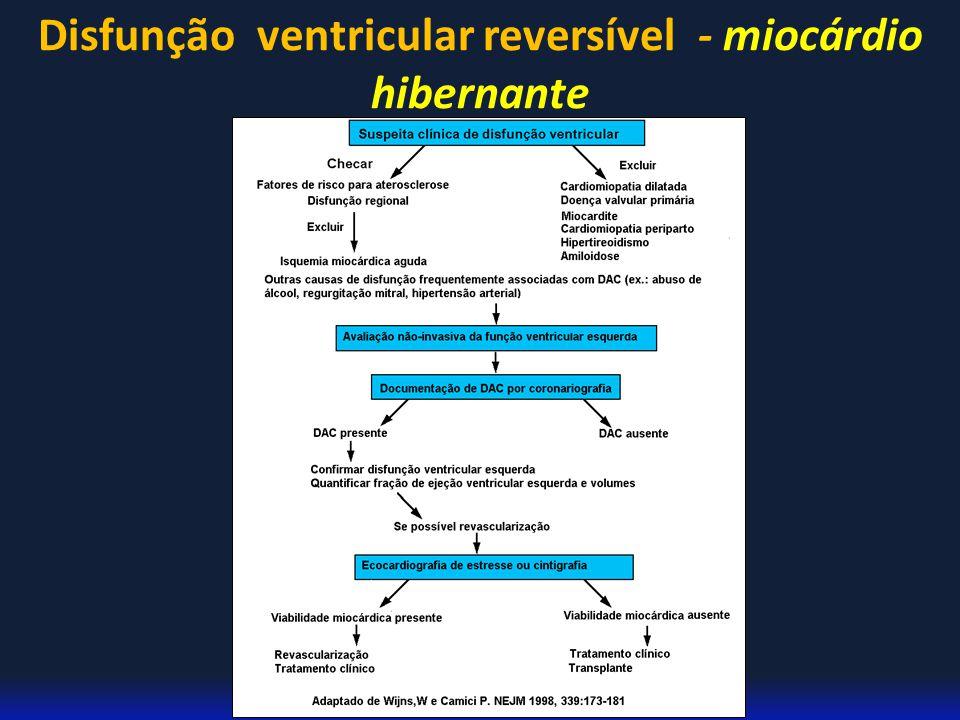Pedro Paulo A. Herkenhoff Disfunção ventricular reversível - miocárdio hibernante