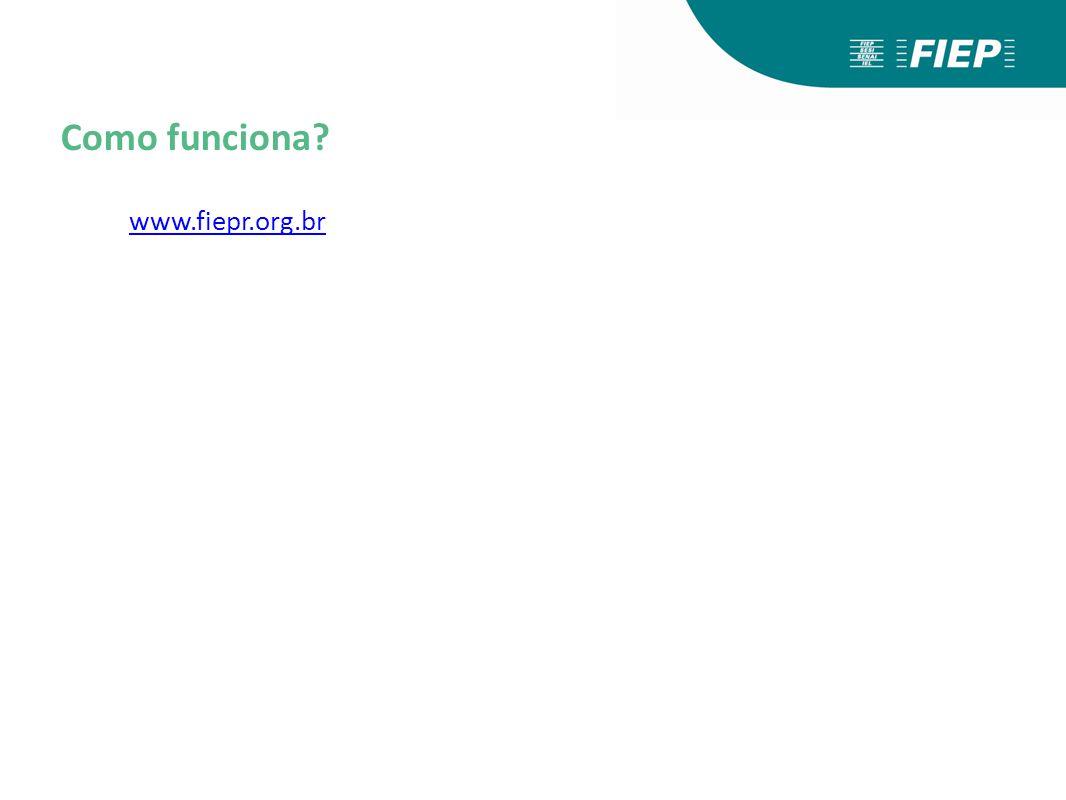 www.fiepr.org.br Como funciona?