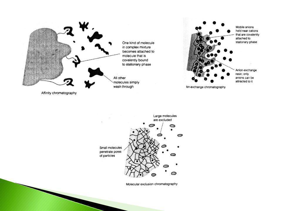 S CROMATOGRAFIA Em coluna Planar L L F L CP CCD Gás L S F L CGL CGS CGFL Fluído supercrítico F L L CSS CSFL Líquido L S CLL CLS CE F L CLFL CTI CB Tipos de Cromatografia Fase Móvel Técnica Fase Estacionária Classificação: