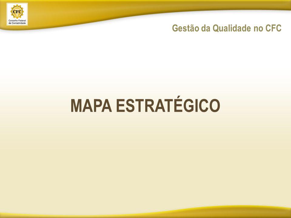 MAPA ESTRATÉGICO Gestão da Qualidade no CFC