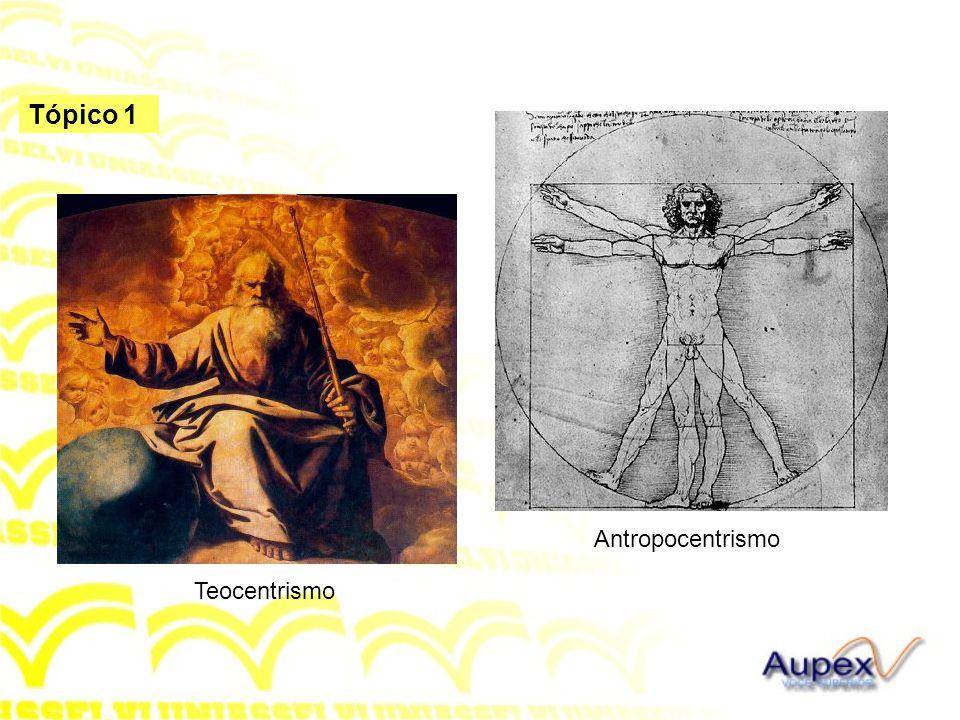 Tópico 1 Teocentrismo Antropocentrismo