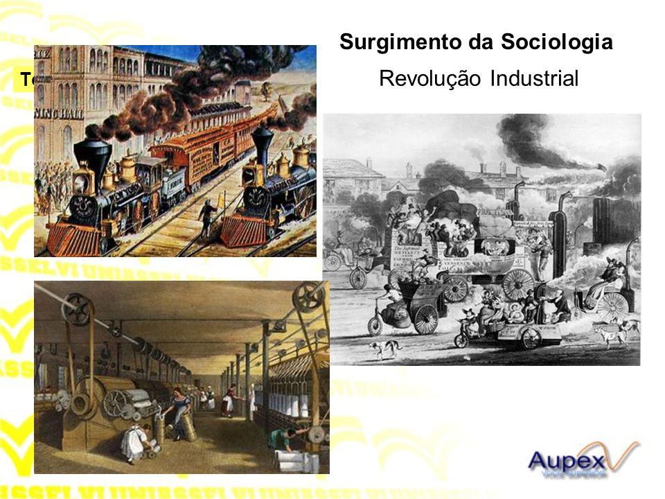 Revolução Industrial Surgimento da Sociologia
