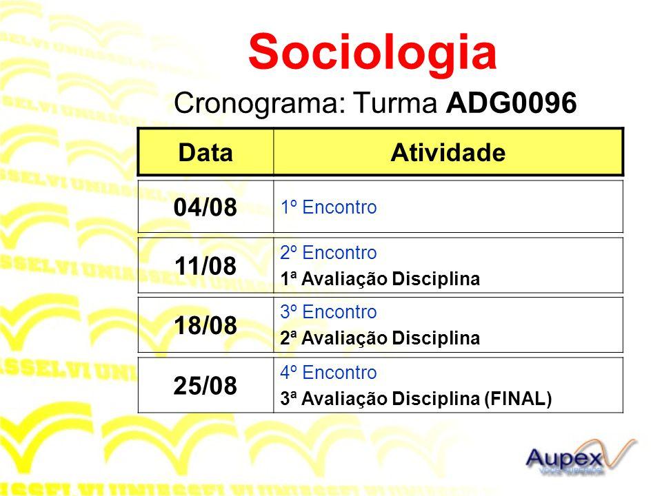 1 Introdução A Sociologia tem importantes consequências práticas.