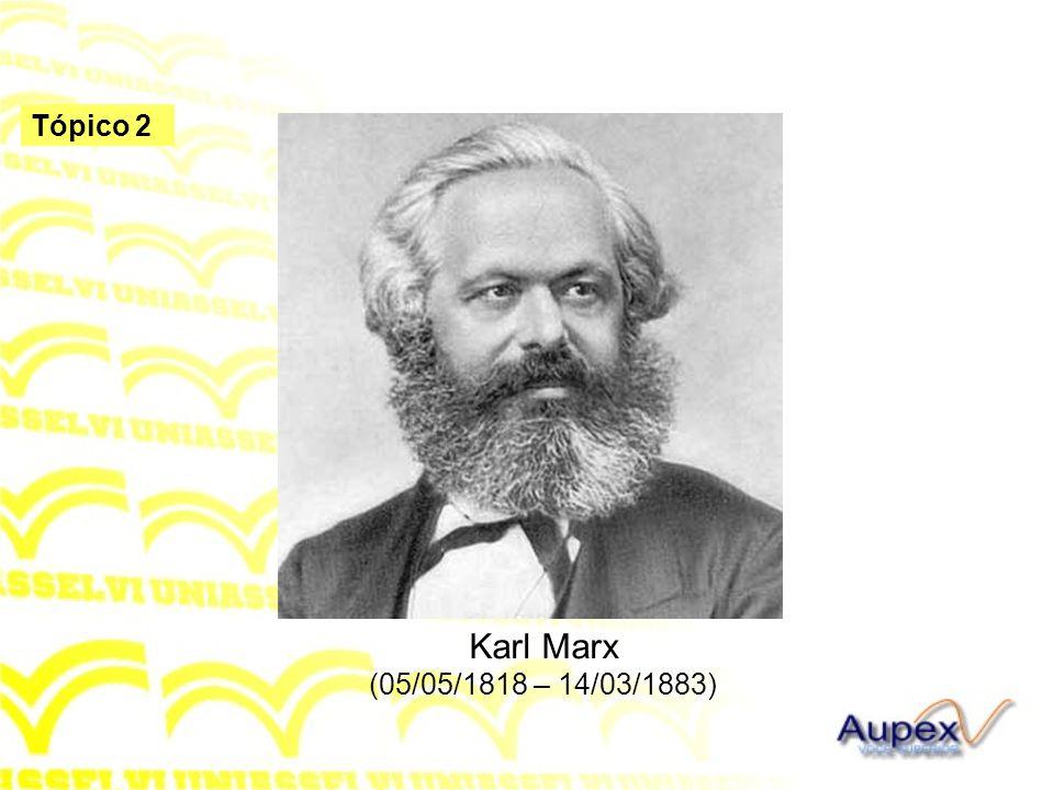 Karl Marx (05/05/1818 – 14/03/1883)