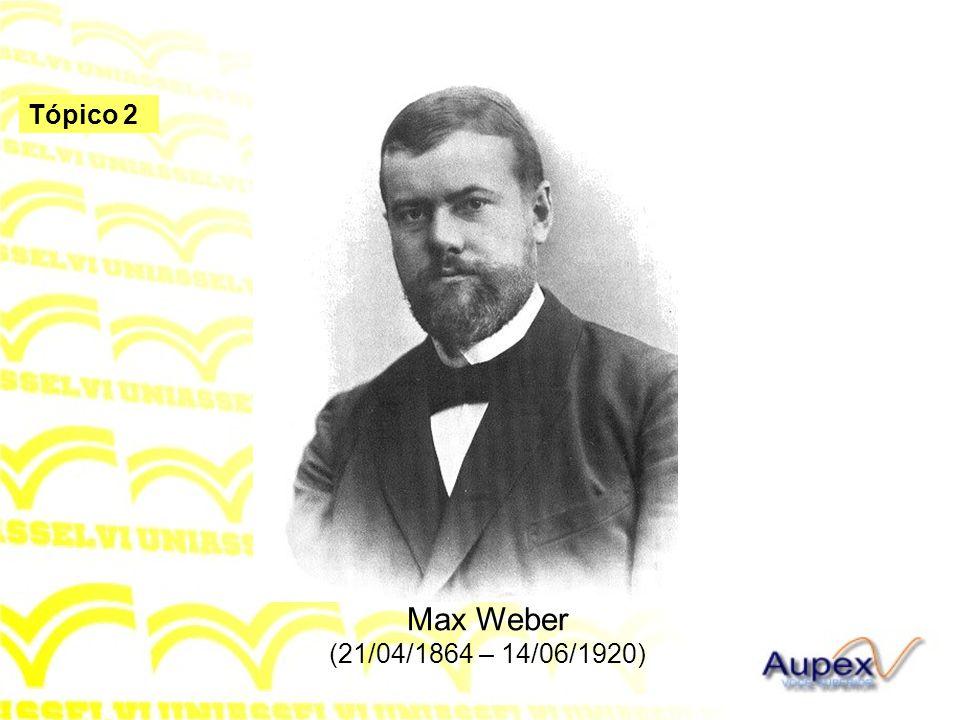 Max Weber (21/04/1864 – 14/06/1920)