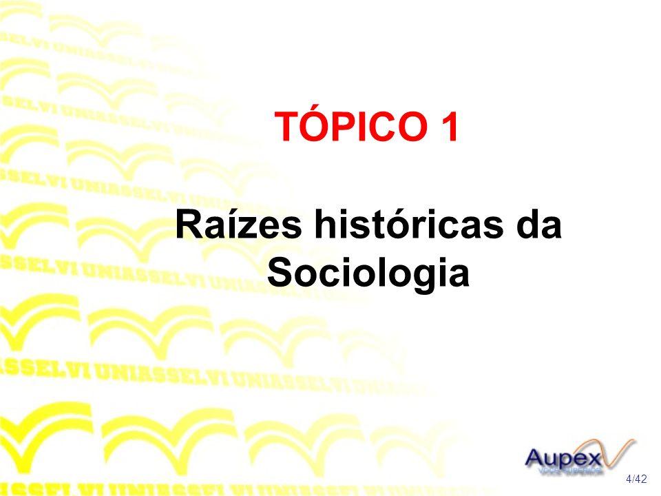 1 Introdução Nesta unidade serão estudados os sociólogos que têm investigado ou escrito na atualidade.