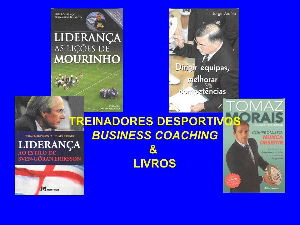 TREINADORES DESPORTIVOS BUSINESS COACHING & LIVROS