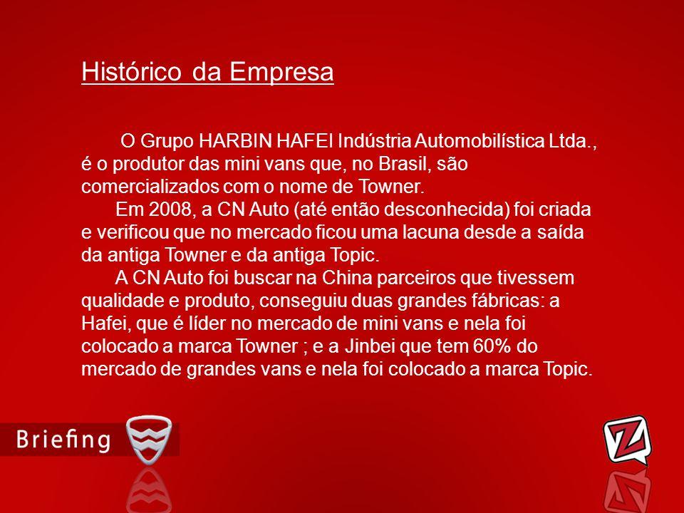 O Grupo HARBIN HAFEI Indústria Automobilística Ltda., é o produtor das mini vans que, no Brasil, são comercializados com o nome de Towner. Em 2008, a