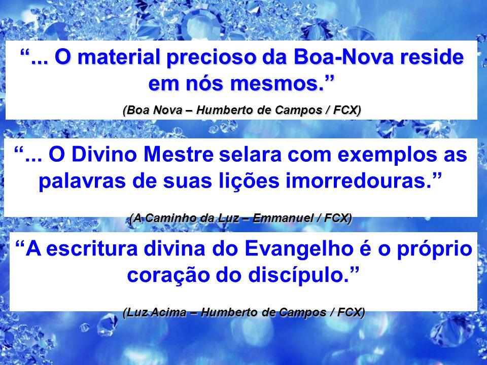 """A estratégia do Cristo na divulgação do seu Evangelho """"Levi perguntou: — Senhor, que material mobilizaremos para ensinar em nome do Pai Sábio e Miseri"""