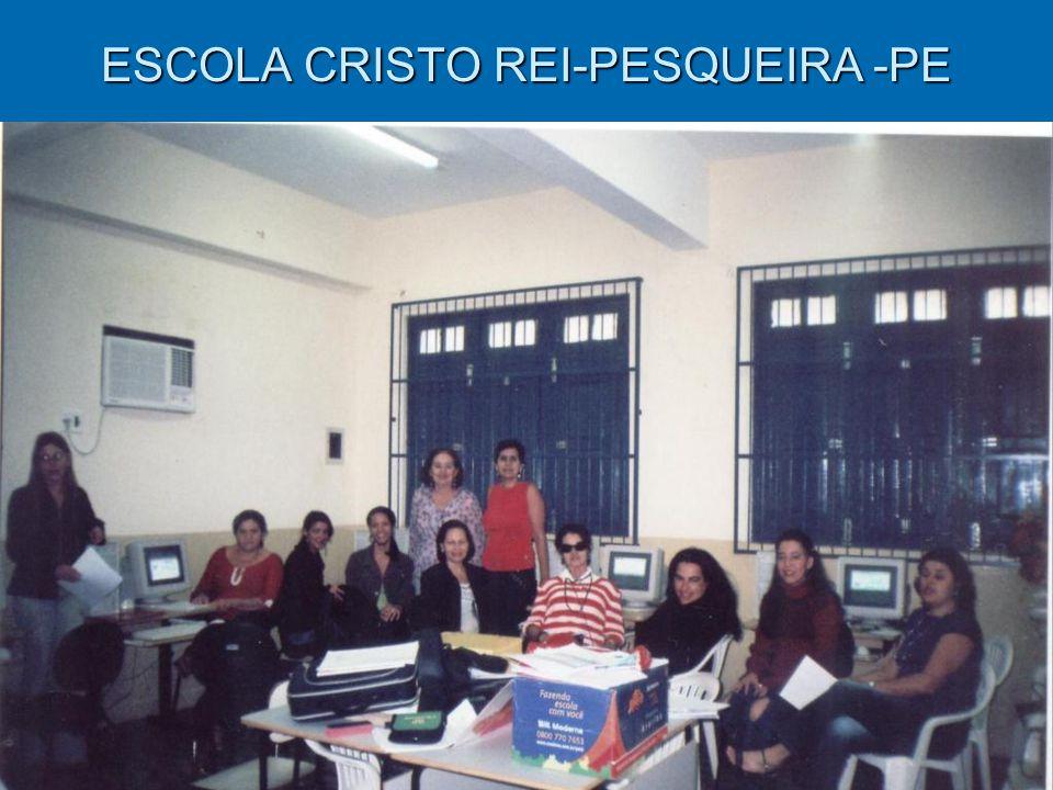 ESCOLA CRISTO REI-PESQUEIRA -PE