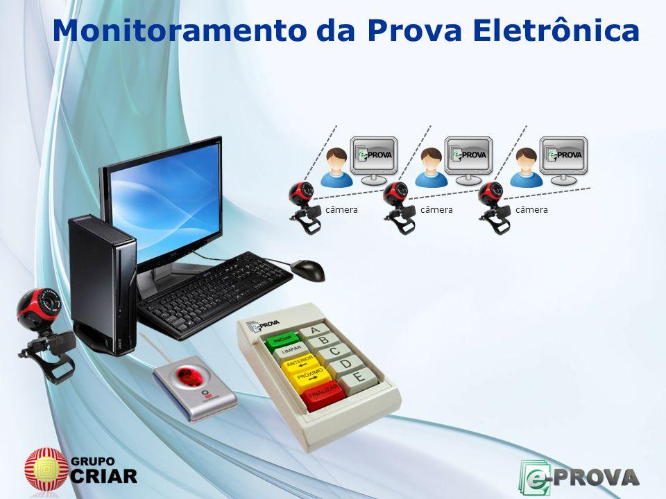 Monitoramento da Prova Eletrônica câmera