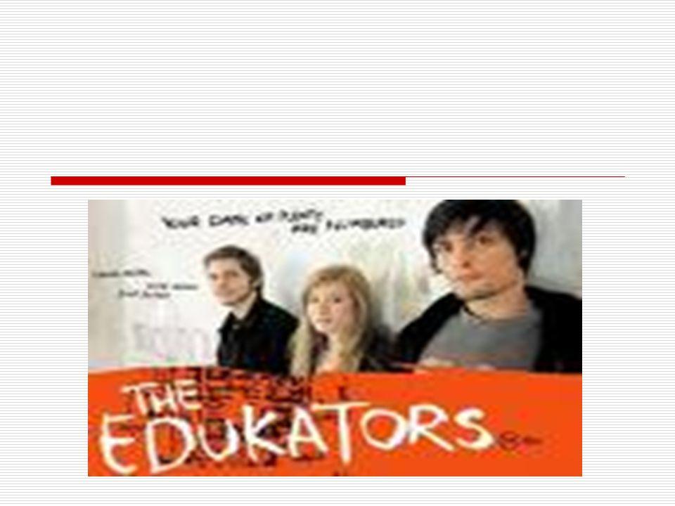 O filme mostra um trio de jovens revolucionários que invade mansões enquanto os donos viajam.