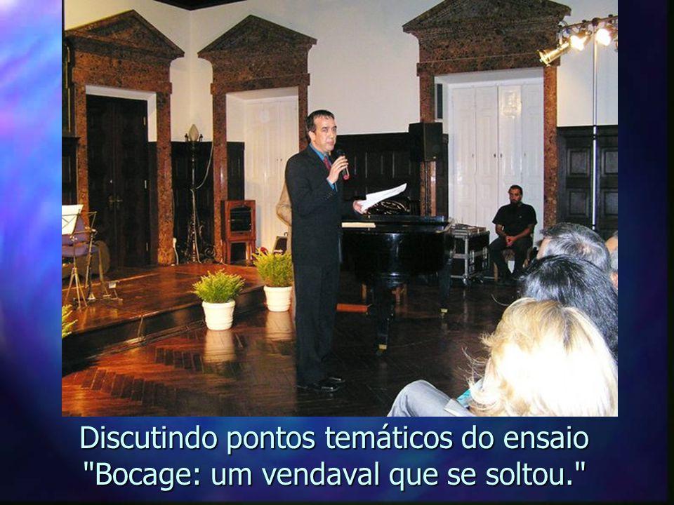Agradecimentos pelo prêmio e pelo tratamento recebido: lágrimas do amigo Policarpo.