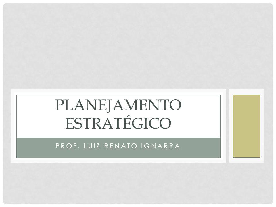 PLANEJAMENTO • É o processo de estabelecer antecipadamente a finalidade da organização, escolher objetivos e prever as atividades e os recursos necessários para atingi-los.