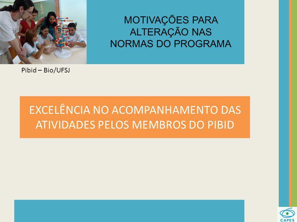EXPANSÃO ESCALONADA DO PROGRAMA Pibid – UNIVATES MOTIVAÇÕES PARA ALTERAÇÃO NAS NORMAS DO PROGRAMA