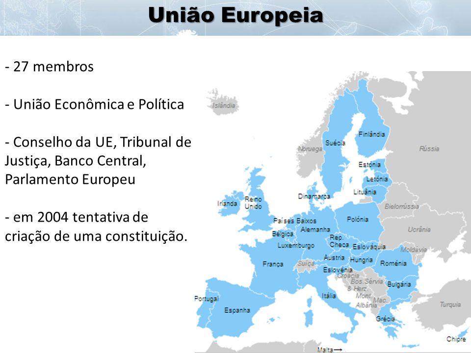 União Europeia - Zona do Euro: 17 membros