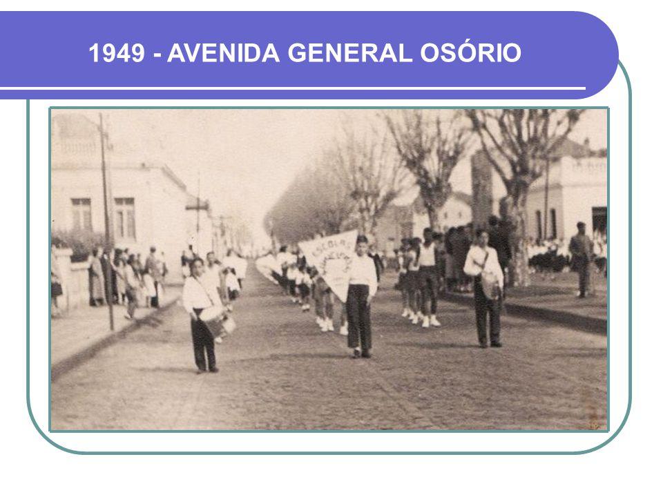 HOJE AVENIDA GENERAL OSÓRIO ESQUINA RUA BARÃO DO RIO BRANCO QUARTEL GENERAL