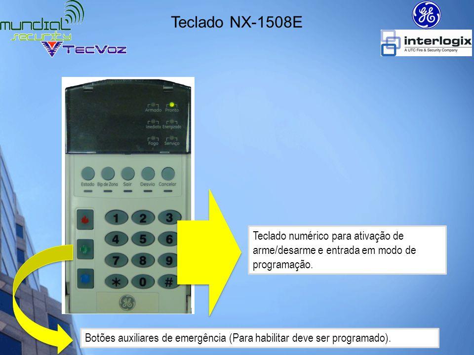 Programação Entrando em modo de programação *8 + 9713 + 0# *8 Entra em modo de programação 9713 Senha de instalador 0 Id device a ser programado # Tem a função de Enter e Exit