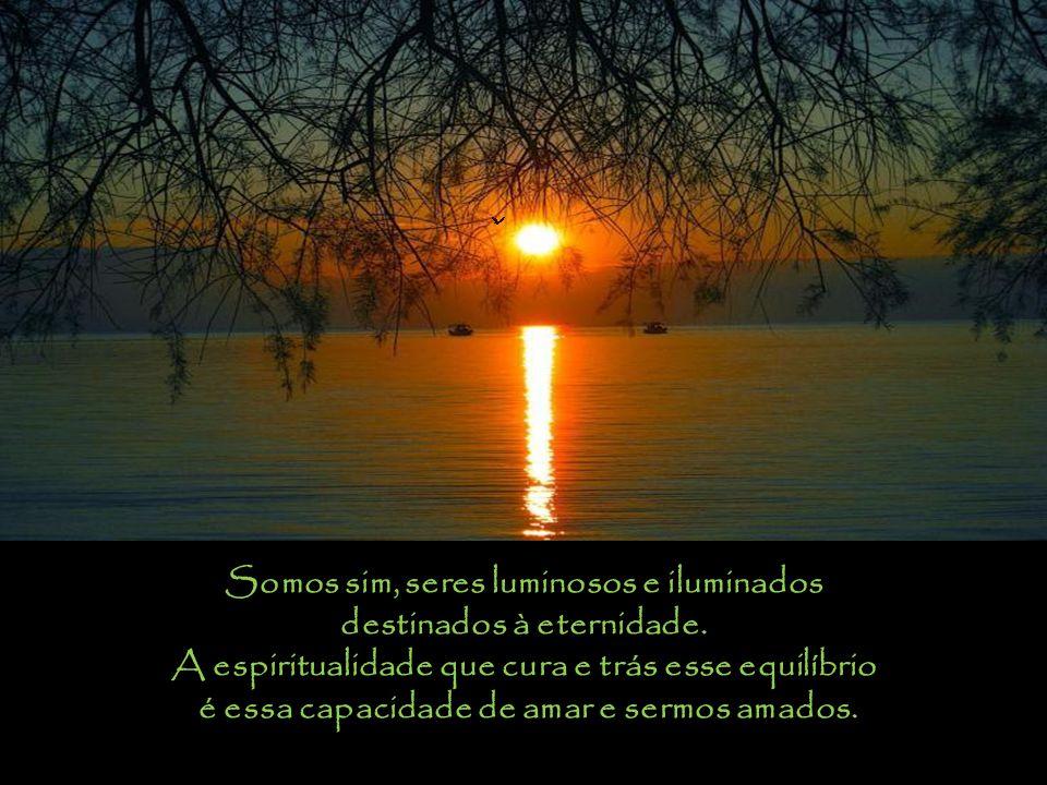 Por consequência em aceitarmos esta nova visão de vida e do mundo e compreendermos esse amor que está dentro de nós ao possuir esse dom tão precioso e