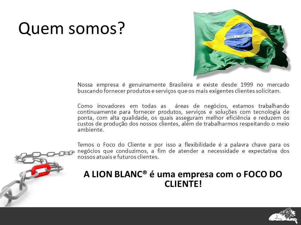Quem somos? Nossa empresa é genuinamente Brasileira e existe desde 1999 no mercado buscando fornecer produtos e serviços que os mais exigentes cliente