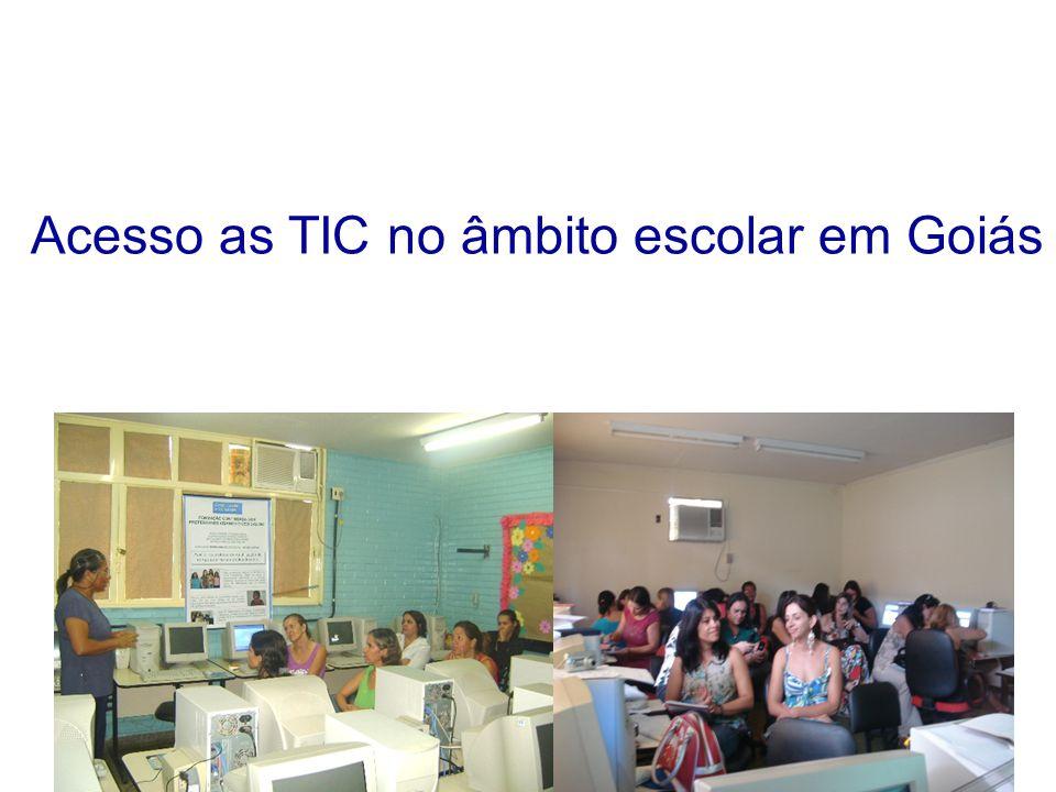 Acesso as TIC no âmbito escolar em Goiás