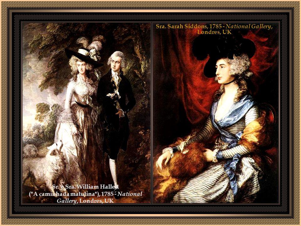 Sr. e Sra. Andrews, 1748-1749 - National Gallery, Londres, UK