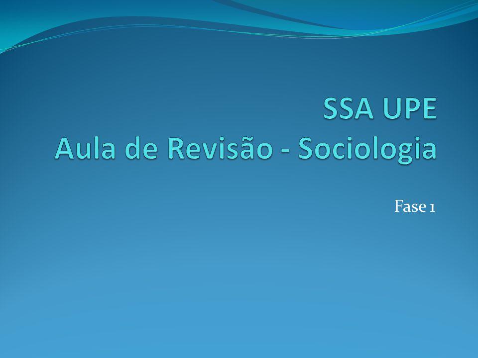  1.CIÊNCIAS SOCIAIS E SOCIOLOGIA: 1.1 Conceitos; 1.2 Surgimento da Sociologia; 1.3 Desenvolvimento da Sociologia; 1.4 Objeto de estudo da Sociologia; 1.5 A Sociologia no Brasil.
