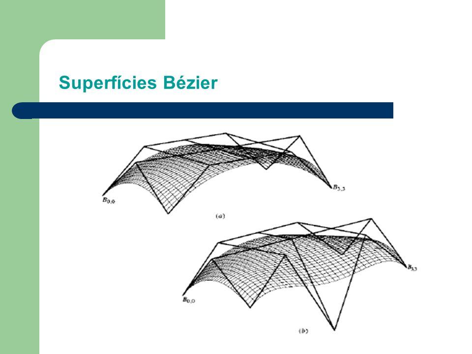 Superfícies Bézier