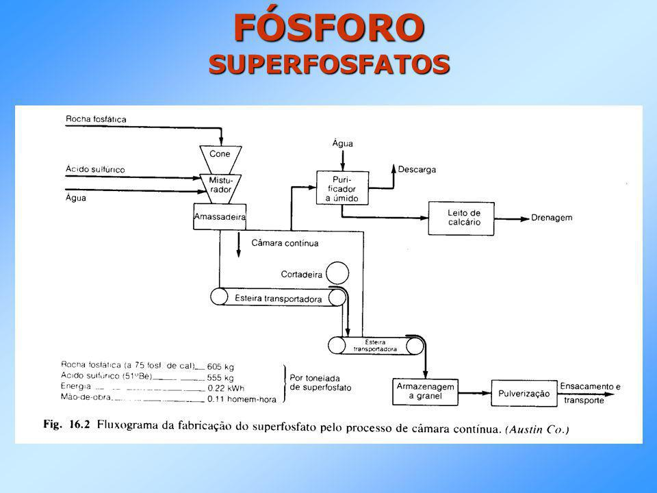 FÓSFORO SUPERFOSFATOS