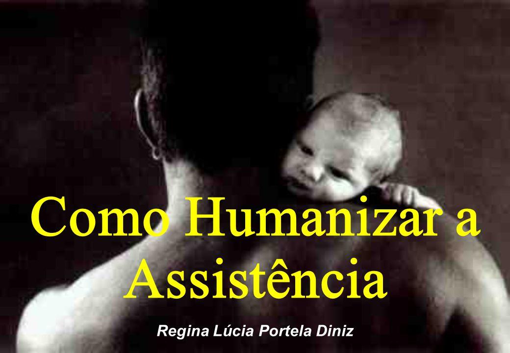Regina Lúcia Portela Diniz Como Humanizar a Assistência