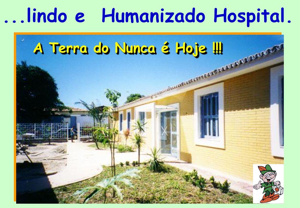 HOSPITAL DIA PETER PAN E a Parceria, a Solidariedade o exercício diuturno da Cidadania transformou a pequenina sala em...