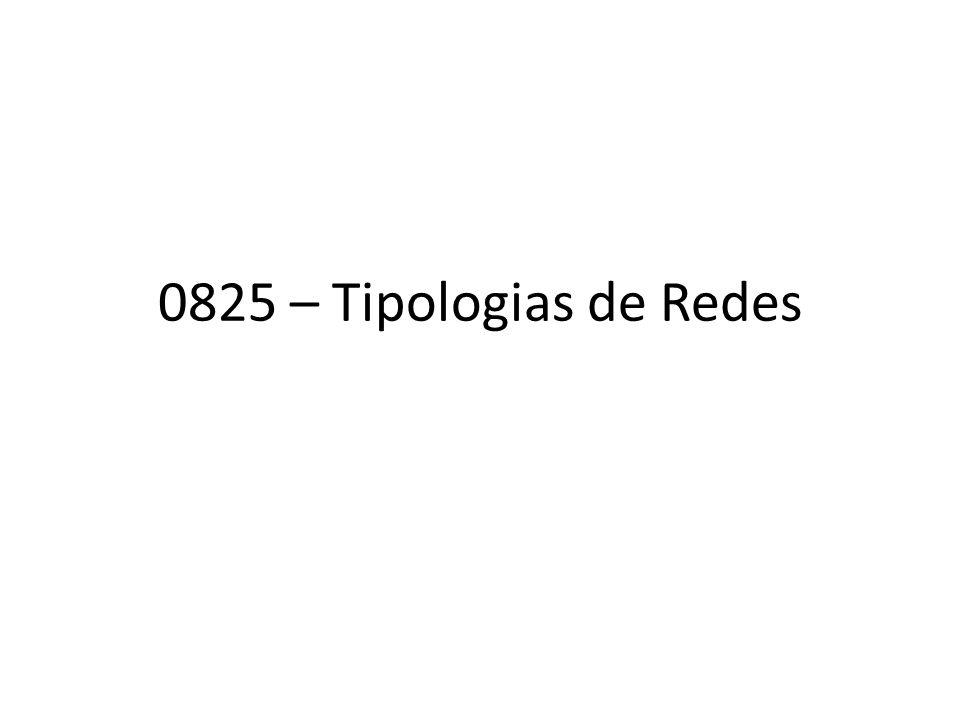 0825 – Tipologias de Redes