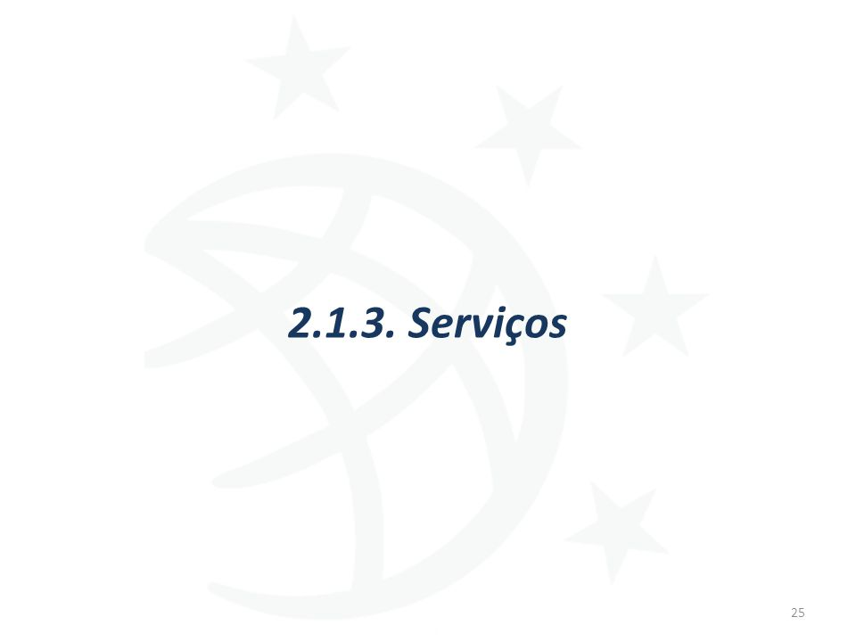 2.1.3. Serviços 25