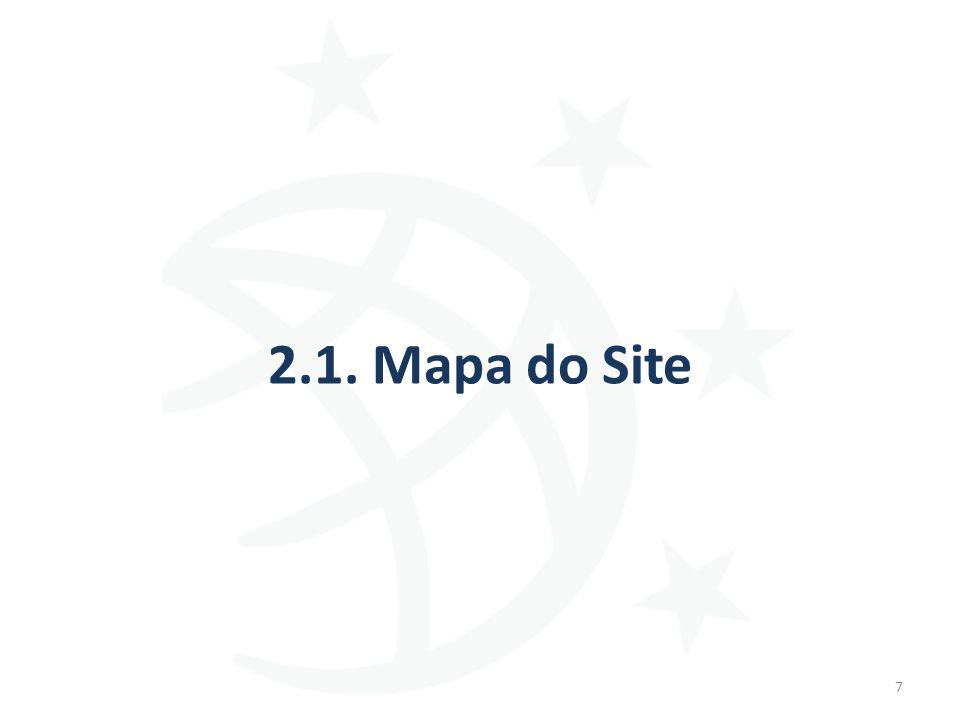2.1. Mapa do Site 7
