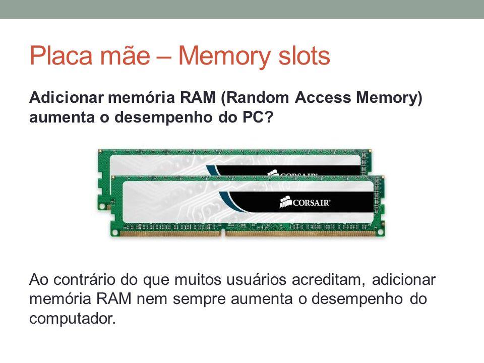 Adicionar memória RAM (Random Access Memory) aumenta o desempenho do PC? Ao contrário do que muitos usuários acreditam, adicionar memória RAM nem semp