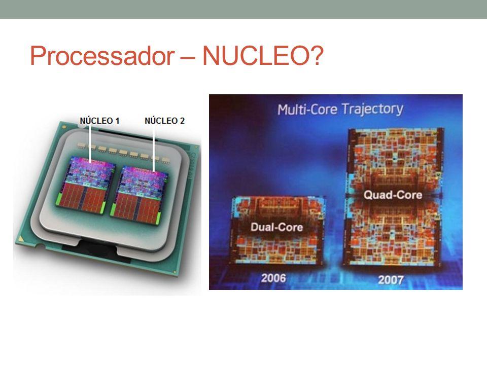 Processador – NUCLEO?