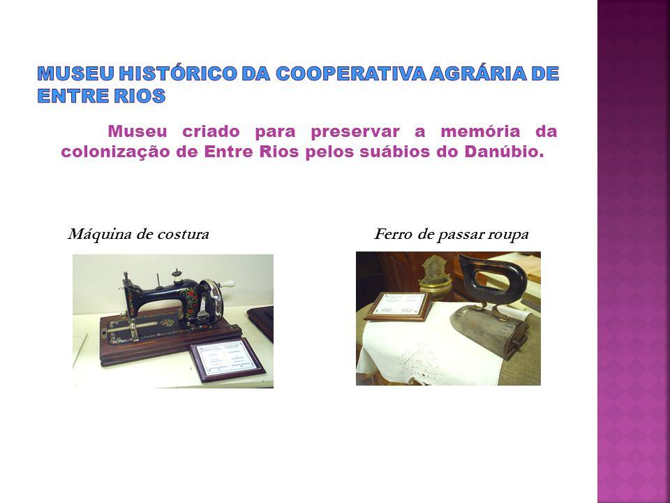 Museu criado para preservar a memória da colonização de Entre Rios pelos suábios do Danúbio.