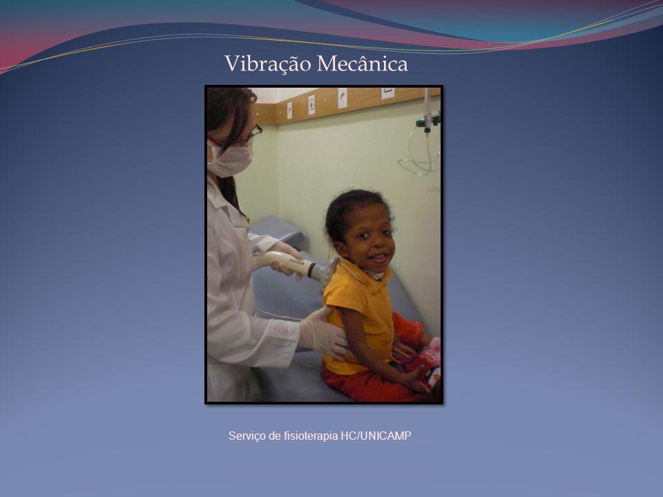 Vibração Mecânica Serviço de fisioterapia HC/UNICAMP