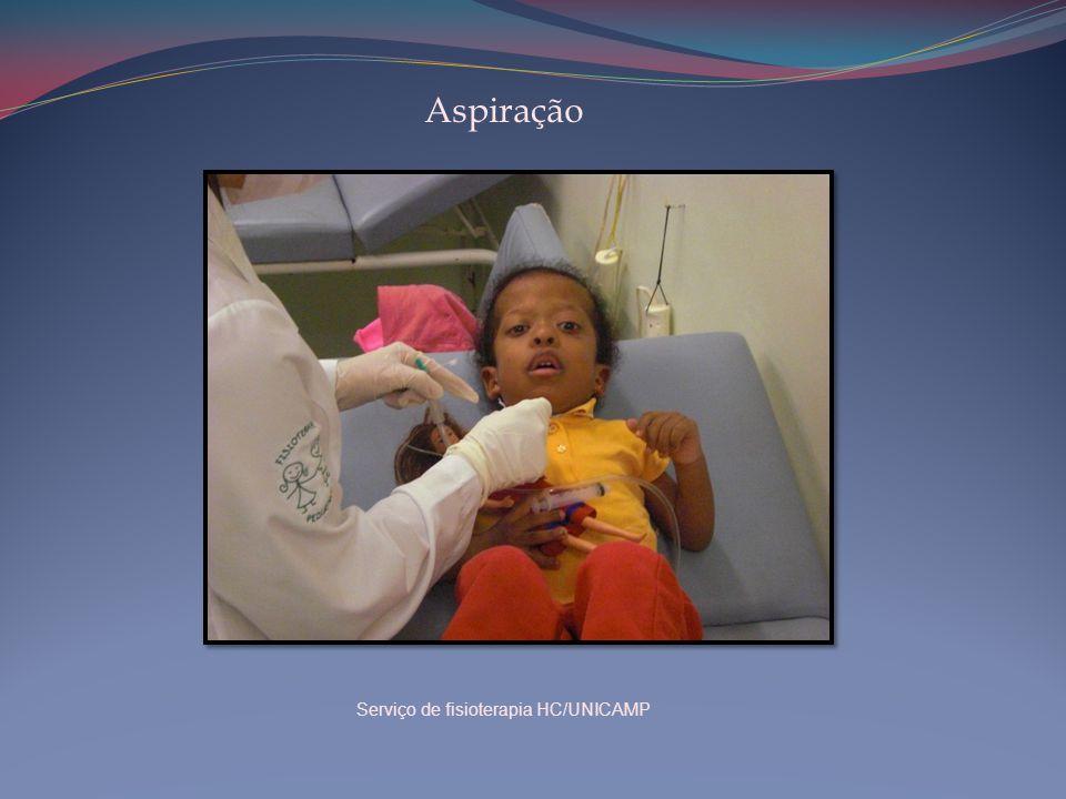 Aspiração Serviço de fisioterapia HC/UNICAMP