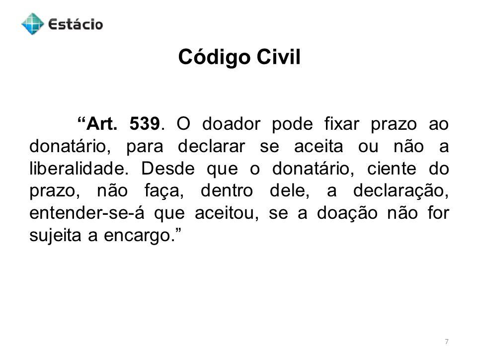 Código Civil 7 Art.539.