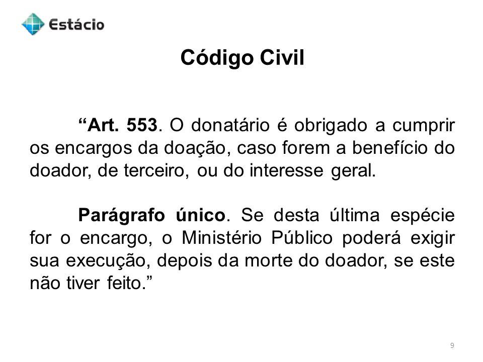 Código Civil 9 Art.553.
