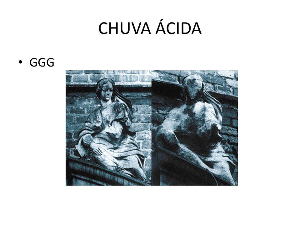 CHUVA ÁCIDA • GGG