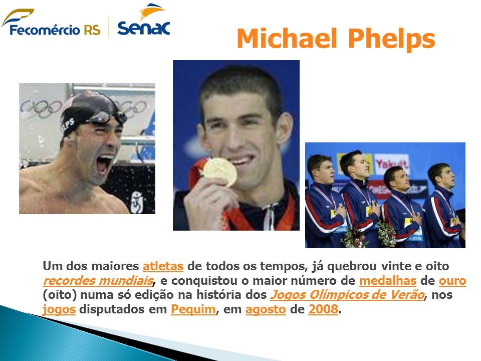 Um dos maiores atletas de todos os tempos, já quebrou vinte e oito recordes mundiais, e conquistou o maior número de medalhas de ouro (oito) numa só e
