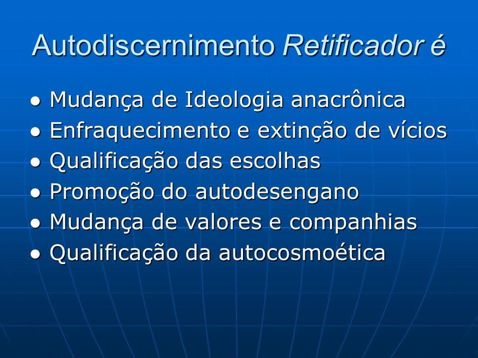 Resultados Interassistenciais → I dentificar os conteúdos maduros intraconscienciais e a qualidade dos resultados interassistenciais.