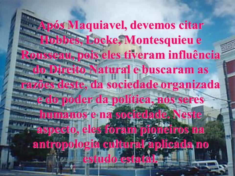 Quem veio a revolucionar os antigos conceitos de T.G.E. foi Maquiavel, que ignorou os valores humanos, incluíndo os de cunho moral e religioso, mas ob