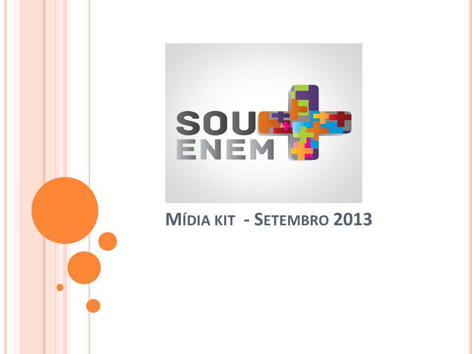 M ÍDIA KIT - S ETEMBRO 2013