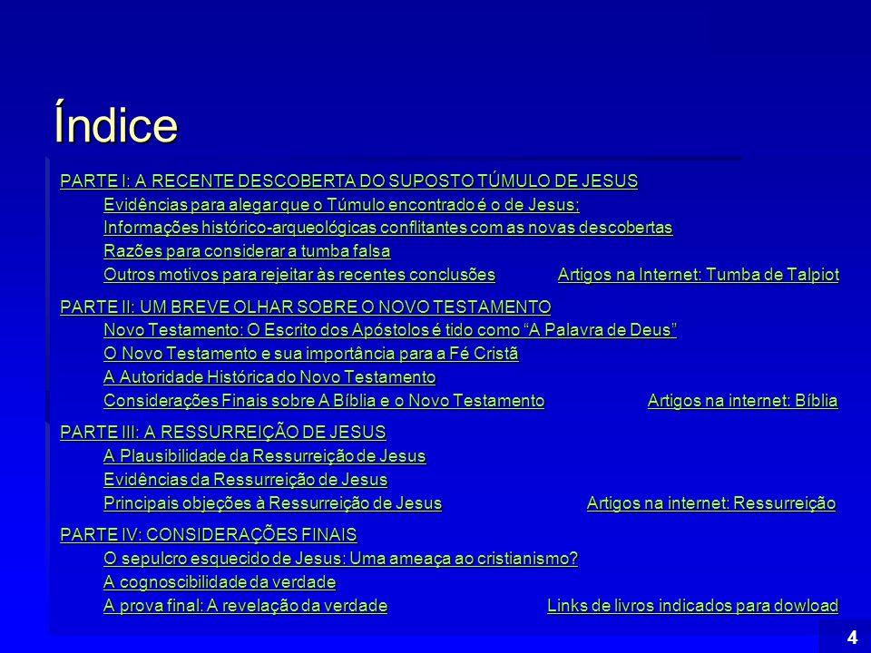 Índice 105 Alguns livros indicados para download  Bíblia Sagrada (pdf*) ou (doc*) Bíblia Sagrada (pdf*)(doc*) Bíblia Sagrada (pdf*)(doc*)  Cristianismo puro e simples* – C.S.Lewis (ex-ateu) Cristianismo puro e simples* Cristianismo puro e simples*  Análise da inteligência de Cristo: O Mestre dos mestres* – Augusto Cury (ex-ateu) Análise da inteligência de Cristo: O Mestre dos mestres* Análise da inteligência de Cristo: O Mestre dos mestres*  E a Bíblia tinha Razão* - Werner Keller E a Bíblia tinha Razão* E a Bíblia tinha Razão*  Separando Ficção e Realidade em O Código Da Vinci* – Josafá Valim de Lima Separando Ficção e Realidade em O Código Da Vinci* Separando Ficção e Realidade em O Código Da Vinci*  Provas da Existência de Deus* - Jefferson Magno Costa Provas da Existência de Deus* Provas da Existência de Deus*  The Existence of God+ - Francois de Salignac de La Mothe- Fenelon The Existence of God+ The Existence of God+  The New Testament Documents: Are they Reliable?+ – F.F.Bruce (livro em html) The New Testament Documents: Are they Reliable?+ The New Testament Documents: Are they Reliable?+  Twenty Arguments For The Existence Of God+ – Compilado por Peter J.