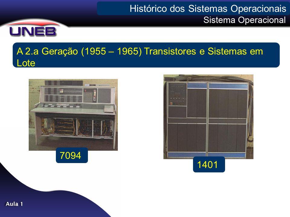 - A 3.a Geração (1965 – 1980) CIs e Multiprogramacao (OS 360, CTSS, Multics e...