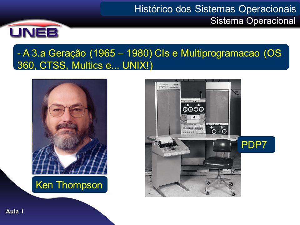 - A 4.a Geração (1980 – Presente) Microprocessadores Enfim...