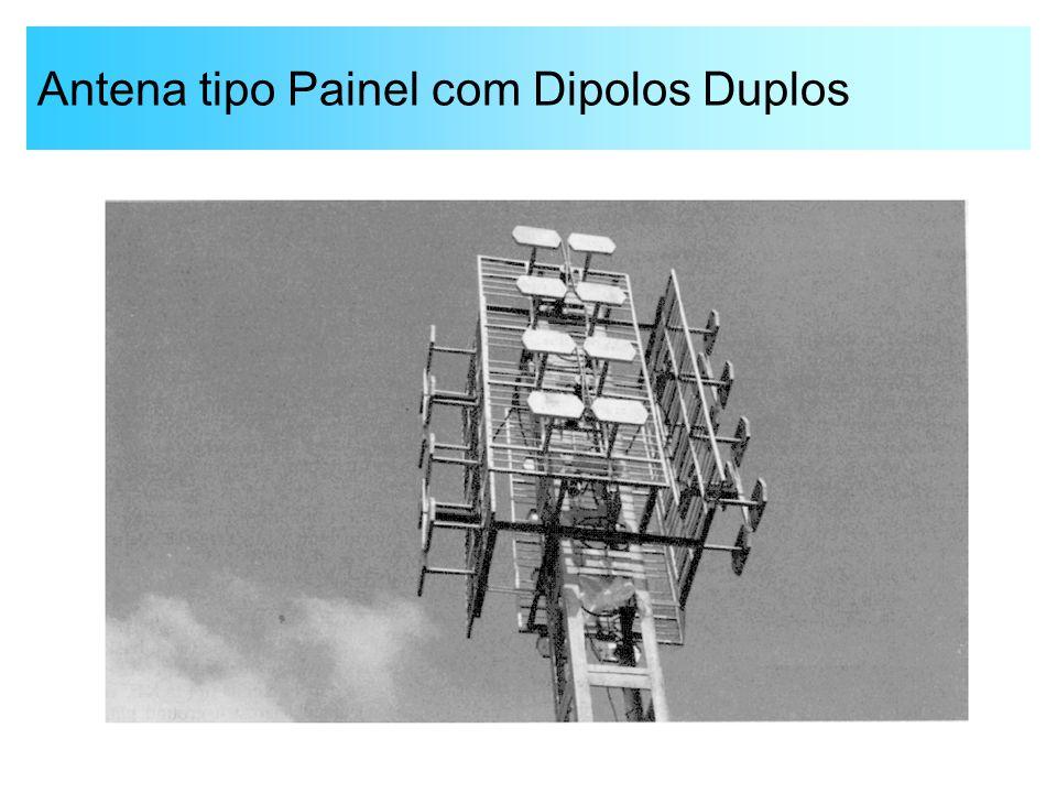 Antena tipo Painel com Dipolos Duplos